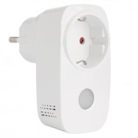 Broadlink Stop Kontak Smart Plug WiFi Timer EU Plug - SP3 - White - 4