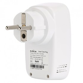 Broadlink Stop Kontak Smart Plug WiFi Timer EU Plug - SP3 - White - 5