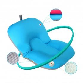 Bantal Dudukan Mandi Bayi - Blue - 2