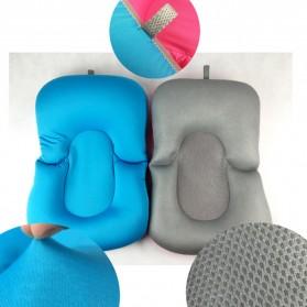 Bantal Dudukan Mandi Bayi - Blue - 4