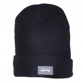 Faddare Topi Kupluk Khusus Camping dengan Lampu LED Beanie Hat - Black - 3