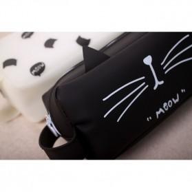 Kotak Pensil Cute Cat Meow - Black - 6