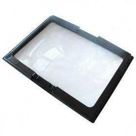 NEWACALOX Kaca Pembesar Bentuk Meja dengan Lampu LED - HL-A4 - Black White - 3