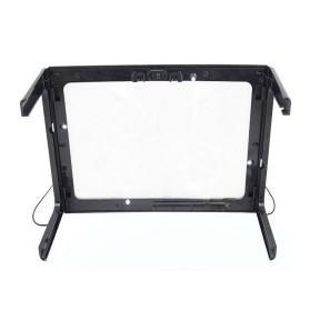 NEWACALOX Kaca Pembesar Bentuk Meja dengan Lampu LED - HL-A4 - Black White - 5