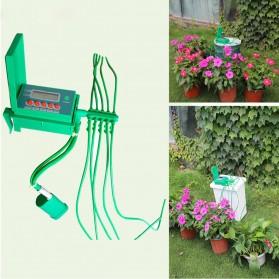 Timer Irigasi Air Tanaman Otomatis Micro Drip Home Watering Kits - Green