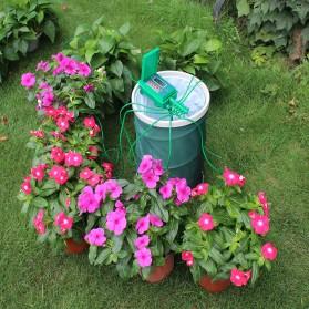 Timer Irigasi Air Tanaman Otomatis Micro Drip Home Watering Kits - Green - 2
