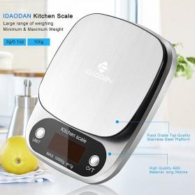 Taffware Digipounds Timbangan Dapur Digital Kitchen Scale 10kg 1g - Z2S - Silver - 3