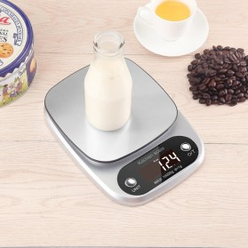 Taffware Digipounds Timbangan Dapur Digital Kitchen Scale 10kg 1g - Z2S - Silver - 7