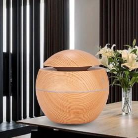 Taffware Air Humidifier Aromatherapy Oil Diffuser 130ml Wood Design - HUMI H41 - Yellow - 2