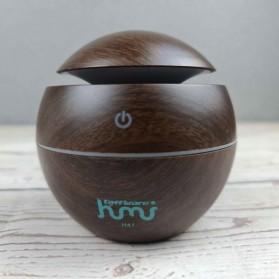 Taffware Air Humidifier Aromatherapy Oil Diffuser 130ml Wood Design - HUMI H41 - Yellow - 3