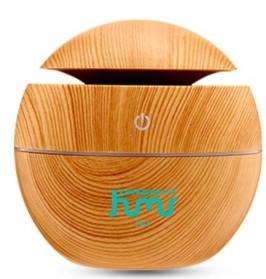 Taffware Air Humidifier Aromatherapy Oil Diffuser 130ml Wood Design - HUMI H41 - Yellow - 4