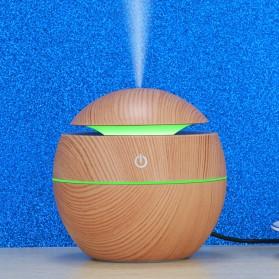Taffware Air Humidifier Aromatherapy Oil Diffuser 130ml Wood Design - HUMI H41 - Yellow - 5