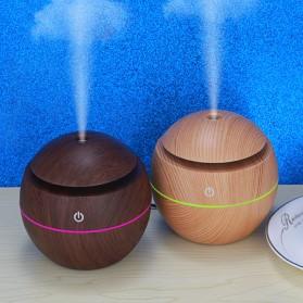 Taffware Air Humidifier Aromatherapy Oil Diffuser 130ml Wood Design - HUMI H41 - Yellow - 6