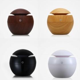 Taffware Air Humidifier Aromatherapy Oil Diffuser 130ml Wood Design - HUMI H41 - Yellow - 10