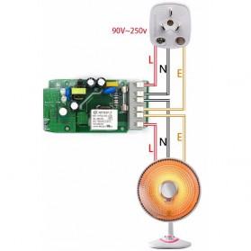 Sonoff Pow Wifi Smart Switch dengan Pengukur Konsumsi Daya - White - 7