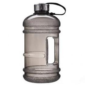 Botol Minum Gym Bentuk Galon 2.2 Liter - SX2017 - Black