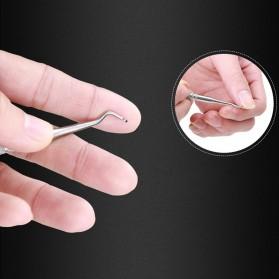 Alat Perawatan Kuku Nail Hook Correction 1 PCS - N0051 - Silver - 2