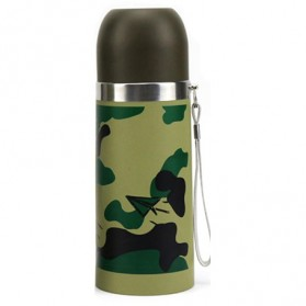 Botol Thermos Camouflage Stainless Steel 350ml - Camouflage - 2