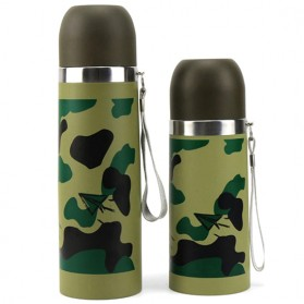 Botol Thermos Camouflage Stainless Steel 350ml - Camouflage - 3