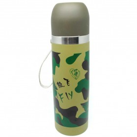 Botol Thermos Camouflage Stainless Steel 500ml - Camouflage