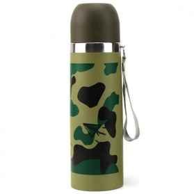 Botol Thermos Camouflage Stainless Steel 500ml - Camouflage - 2