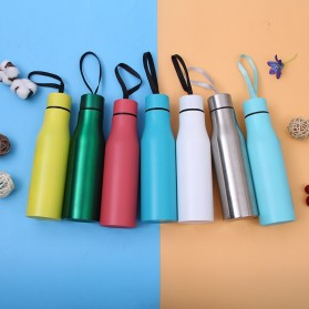 Botol Minum Hand Grenade Thermos Stainless Steel 500ml - Silver - 4