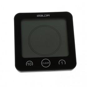 BALDR Jam Digital Countdown Timer Thermometer Hygrometer - Black - 5