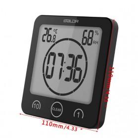BALDR Jam Digital Countdown Timer Thermometer Hygrometer - Black - 9