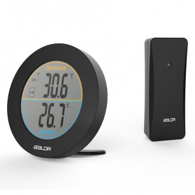 BALDR Sensor Temperature Thermometer with Wireless Probe - B0127T2 - Black