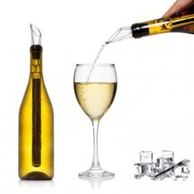 Pendingin Whisky Wine Beer Cooling Rod Ice Stick Pourer - Silver