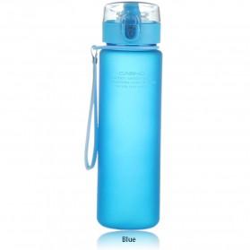 Botol Minum Sporty Scrub 560ml - Blue