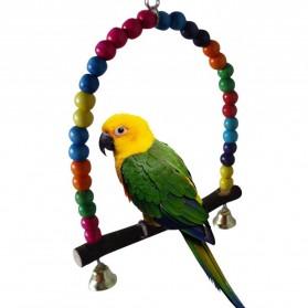 Tangkringan Burung Kakak Tua Lovebird Beo - Mix Color