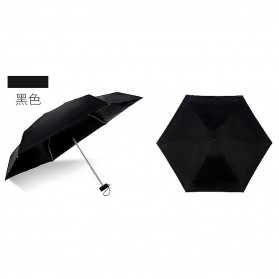 Payung Mini Pocket Umbrella - Black