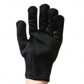 Sarung Tangan Anti Bacok Pisau Cut Resistant - FG2019 - Black - 5