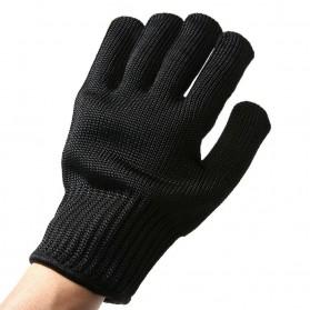 Sarung Tangan Anti Bacok Pisau Cut Resistant - FG2019 - Black - 6