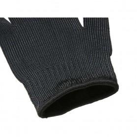 Sarung Tangan Anti Bacok Pisau Cut Resistant - FG2019 - Black - 8