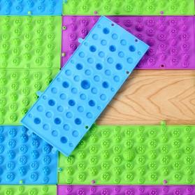 KURADI Karpet Pijat Kaki Keset Refleksi Foot Reflexion Massage Mat - BW3204087 - Multi-Color - 4