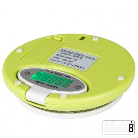 Taffware Digipounds Timbangan Digital Dapur Electronic Kitchen Scale 5kg 1g - CH-303 - Green - 7