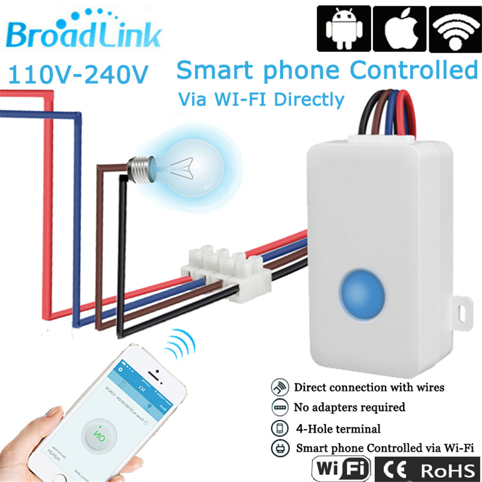 broadlink smart home automation wifi control switch sc1 white. Black Bedroom Furniture Sets. Home Design Ideas