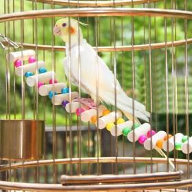 Dekorasi Sangkar Burung Wooden Bridge - Mix Color - 2