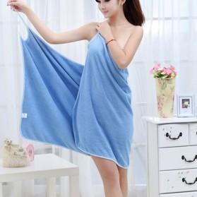 Handuk Pakaian Kimono Atasan Wanita 140x70cm - Blue