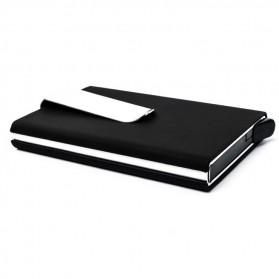 STORKFLY Dompet Holder Klip Kartu dan Uang Kertas -010021 - Black - 2