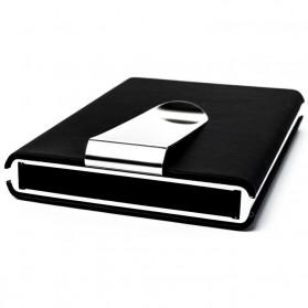 STORKFLY Dompet Holder Klip Kartu dan Uang Kertas -010021 - Black - 3