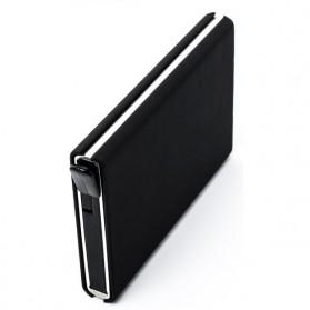 STORKFLY Dompet Holder Klip Kartu dan Uang Kertas -010021 - Black - 6