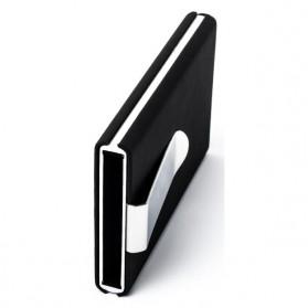 STORKFLY Dompet Holder Klip Kartu dan Uang Kertas -010021 - Black - 7