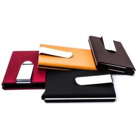STORKFLY Dompet Holder Klip Kartu dan Uang Kertas -010021 - Black - 8