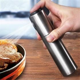 Botol Spray Pump Minyak Olive Oil Stainles Steel 135ml - 400135 - Silver - 2