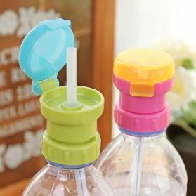 Tutup Botol Sedotan Spill Proof untuk Botol Mineral - Multi-Color