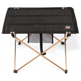 AOTU Meja Lipat Camping Outdoor Piknik - Black