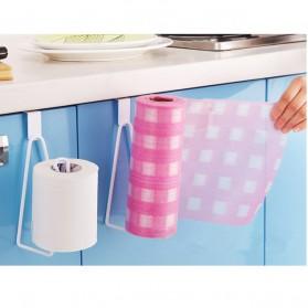 Holder Gantungan Tisu Toilet Multifungsi Model 1 Slot - White
